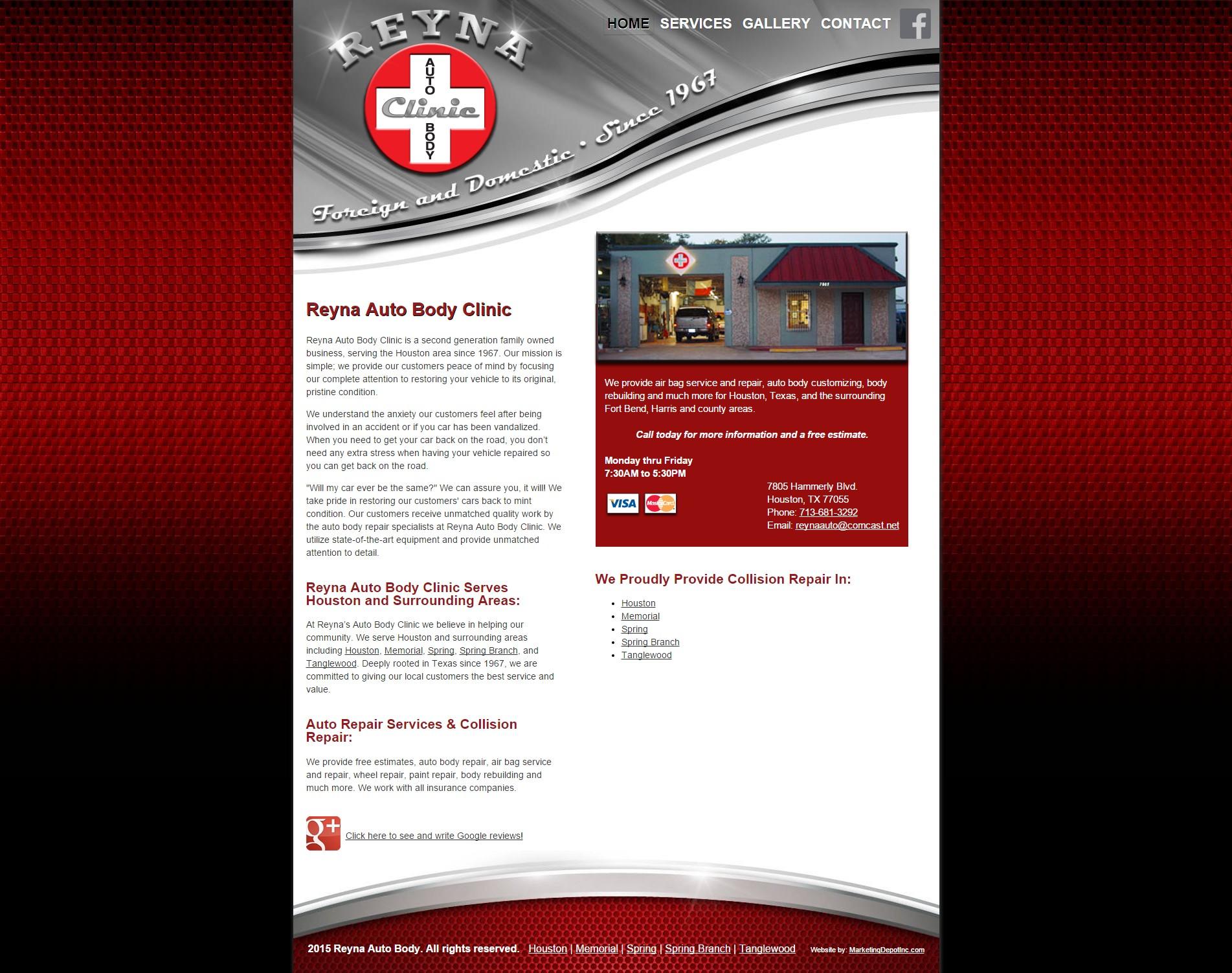 Reyna Auto Body Clinic